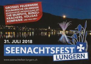 Seenachtsfest 2018 in Lungern